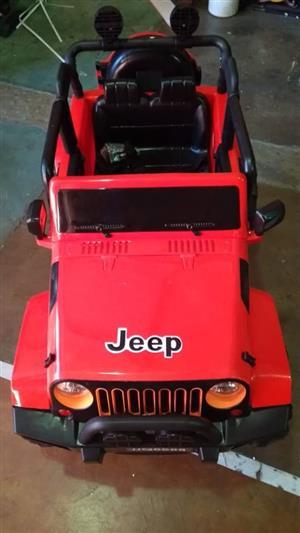 Kids Ride On Jeep