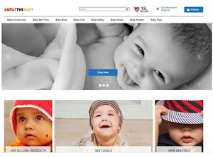 eCommerce Store: AboutTheBaby | Baby Products