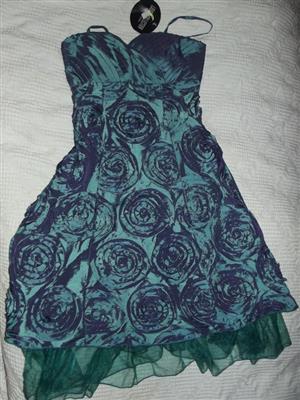 Magnificent Blue Dress - Louis Collection