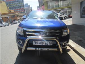 2013 Ford Ranger double cab RANGER 3.2TDCi XLT 4X4 A/T P/U D/C
