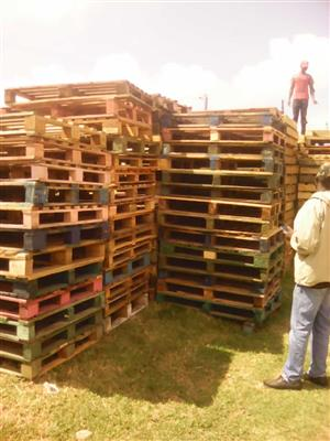 Selling Wooden Pallets