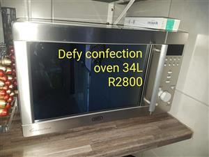 Defy convection oven