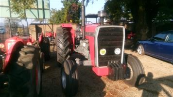 Red Massey Ferguson (MF) 290 80Hp / 60Kw 4X2 Pre-Owned Tractor