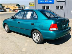 Hyundai Accent 1.5i AT Stripping for spares