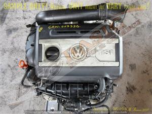 VOLKSWAGEN CAW 2.0 TSI DOHC 16V Engine -TIGUAN