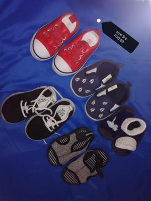 Kiddies shoes and sandals