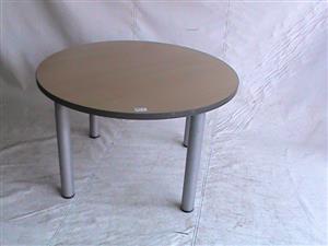 Round boardroom desk