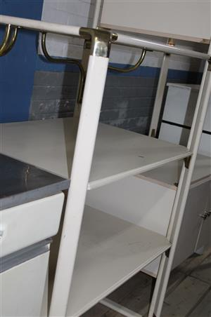 White display shelves S032112A #Rosettenvillepawnshop