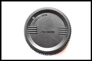 End Lens Cap for Nikon