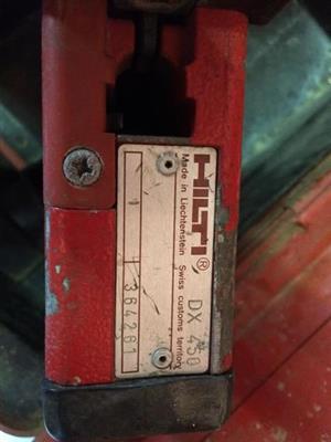 Hilti gun DX 450