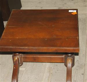 Brown small coffee table S036625 #Rosettenvillepawnshop
