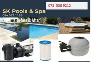 All Spares Of Jacuzzis's And also Pool Pumps And Filters