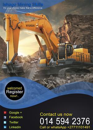 Excavator course in rustenburg/Namibia whatsap/call +27815568232