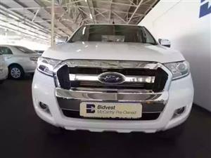2017 Ford Ranger double cab RANGER 2.2TDCi XLT A/T P/U D/C