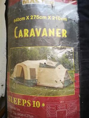 10 Man Tent - nie waterdig
