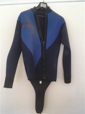 Wetsuite Dive Jacket 5mm and FarmerJohn  3mm Large