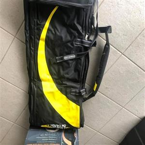 Golf equipment. travel bag...new/unused. Dune Buggy..used /in good condition