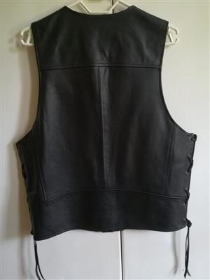 Genuine Harley Davidson Lady's leather vest .