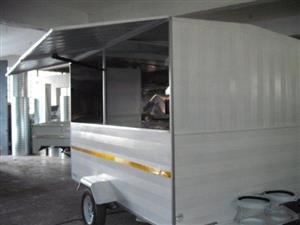 BRAND NEW MOBILE KITCHEN TRAILERS FOR SALE AT GOOD RATES.