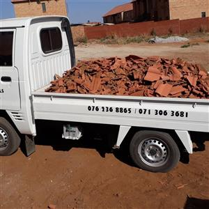 Rubble removal in Polokwane