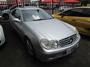 2004 Mercedes Benz CLK 320 cabriolet Avantgarde