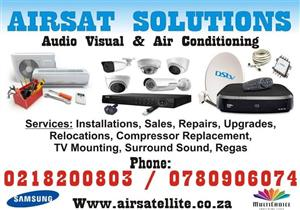 AIRCONDITIONING Installations,sales,repairs and maintance