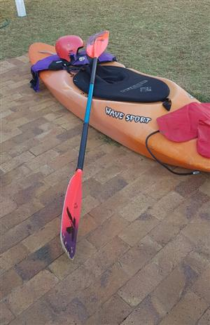 Wavesport Plastic Whitewater Kayak