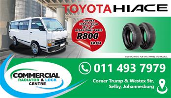 """195/15"""" BLACK WALL TYRES"""