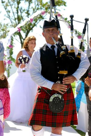 Bagpiper for all your events