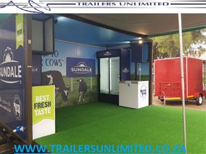 STAGE CUSTOM TRAILERS FOR SALE.