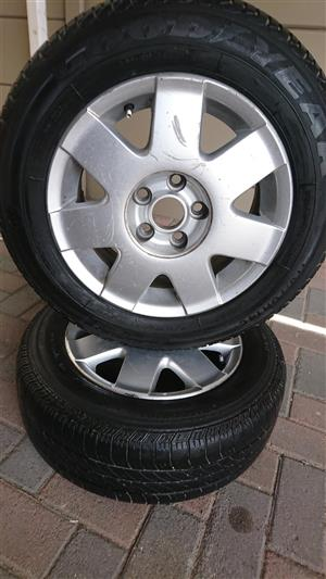 14 Inch Volkswagen Polo Mag/Spare Wheel For Sale