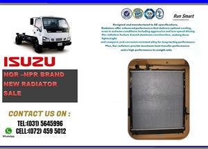 Isuzu NQR and NPR BRAND NEW RADIATORS FOR SALE R3900