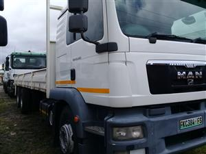 MAN 25-28 LWB CLOSED/DROPSIDE BODY FOR SALE