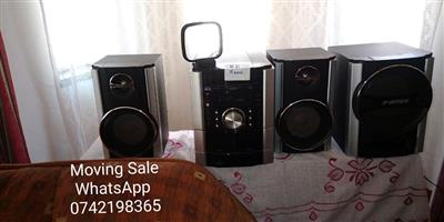 Hi fi and speakers for sale