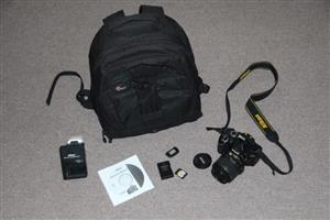 Nikon D3200 SLR camera with 18-55mm lens