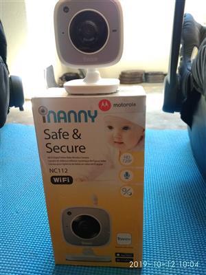 Motorola WiFi Digital camera baby monitor