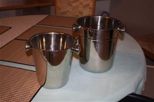 2 X Ice buckets for sale
