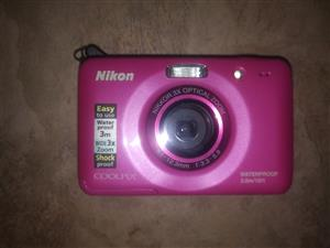 Nikon Coolpix underwater camera