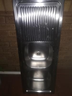 Double drop in Sink