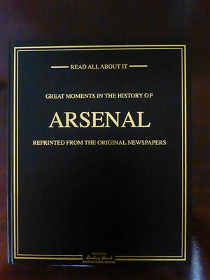 Arsenal Greatest Moments Newspaper Book