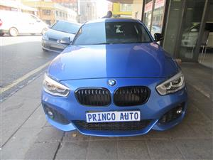 2018 BMW 1 Series 120i 5 door M Sport