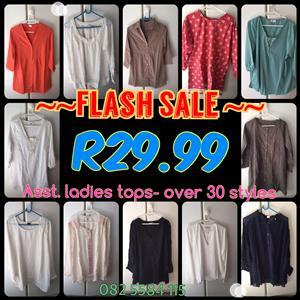 SALE NEW Ladies Tops, Shirts, Blazers & Dresses