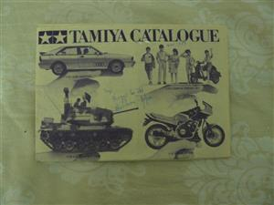 """Old Collectable Tamiya and  Model Train """"Redgewoods Rail Mail """" Catalogues"""
