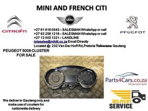 Peugeot 5008 Cluster for sale