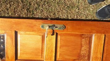 Solid wood door