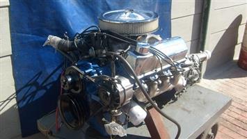 Cleveland 351 v8 Motor and c4 box