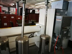 Food and Catering Equipment in Live Wareshouse Auction, Athlone, Cape Town.