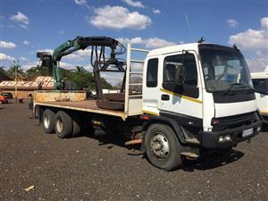Isuzu Rigit Crane Bricks Grab Copma 18ton Pre-Owned Truck