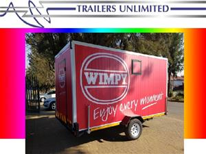 TRAILERS UNLIMITED.  WIMPY MOBILE KITCHEN
