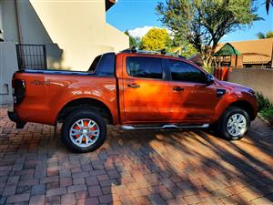 2014 Ford Ranger 3.2 double cab 4x4 Wildtrak auto